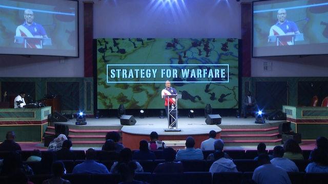 8.22.18 Dr. Herbert Bailey - Strategy for Warfare Pt 3