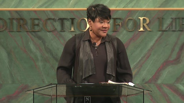 Persevering In Prayer - Dr. Marcia Bailey