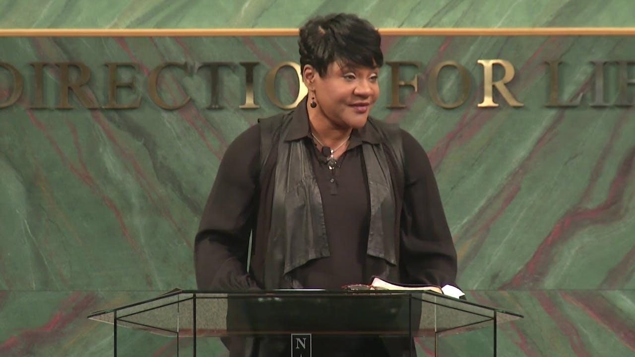 Persevering In Prayer - Dr. Marcia Bailey