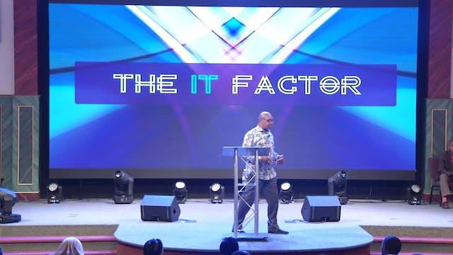 9.27.17 Dr. Herbert Bailey The IT Factor