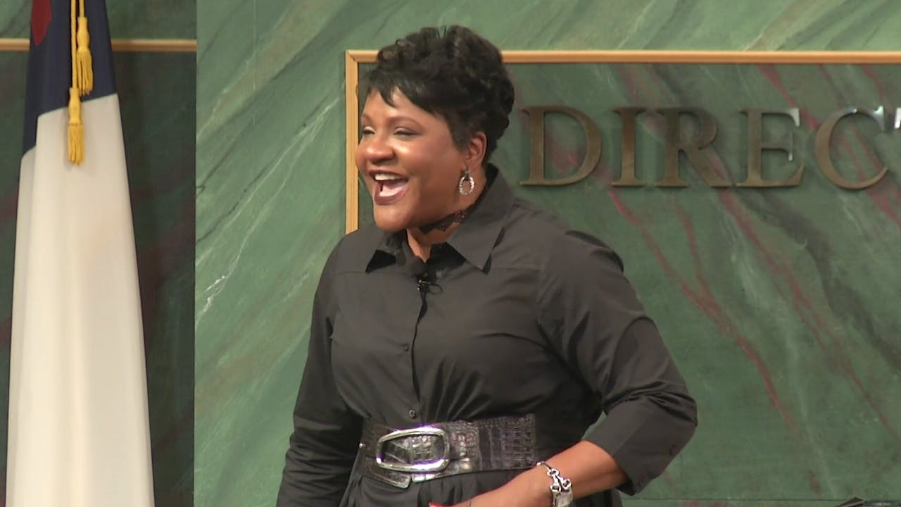 God's Set Time - Dr. Marcia Bailey
