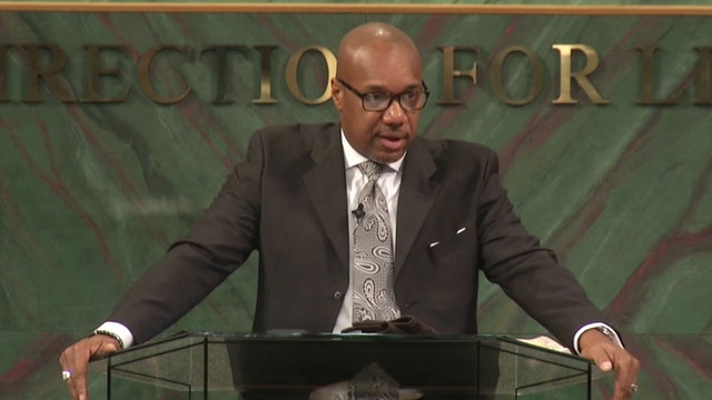 Dr. Herbert Bailey - Pushing Past Offense Pt 1