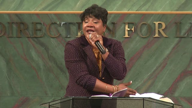 God's Set Time Pt 2 - Dr. Marcia Bailey