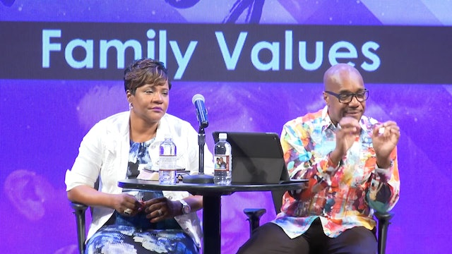 7.5.17 Dr. Herbert and Marcia Bailey - Family Values
