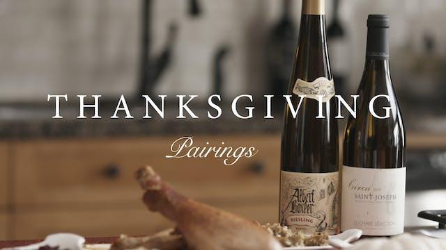 Thanksgiving Pairings 2019