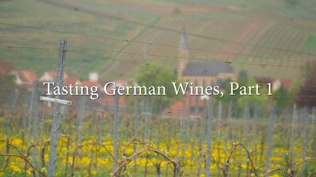 German Wine Tasting: Part 1