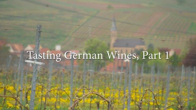 German Wine Tasting: Part 1 with Jill...