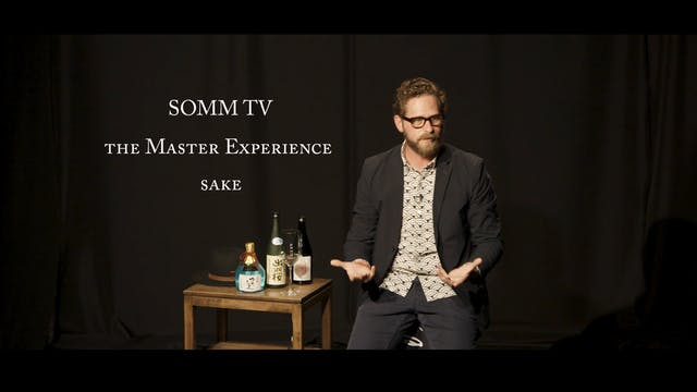 The Master Experience - Sake with Eduardo Dingler