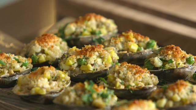 Chef's Notebook: Baked Clams
