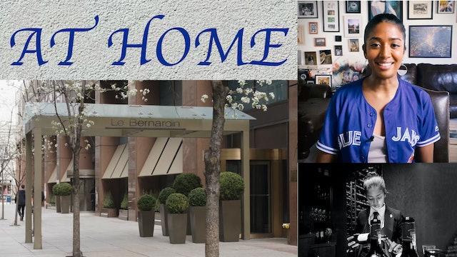 At Home: Episode 7 | Le Bernardin with Sarah Thomas