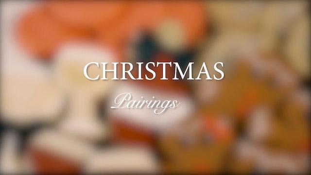 Christmas Cookie Pairings