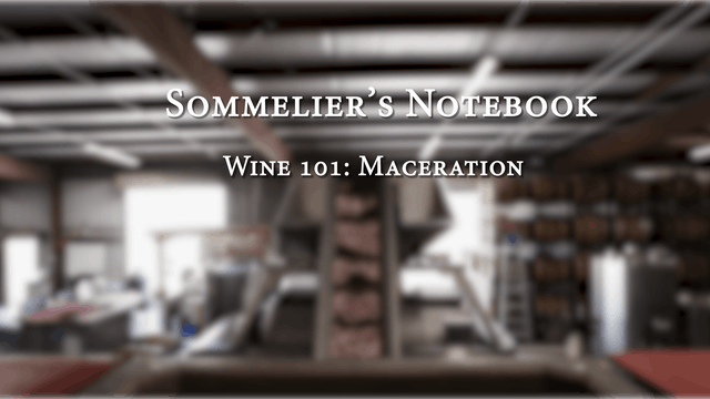 An Intro to Maceration