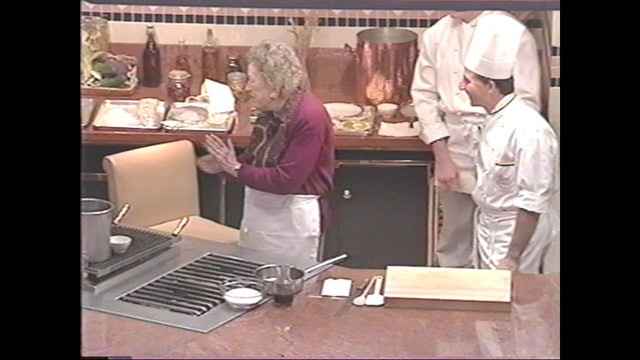 Classic Demonstration with Julia Child and Markus Farbinger: Cardinal Slice