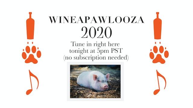 WineaPAWLooza Live Auction, July 25th