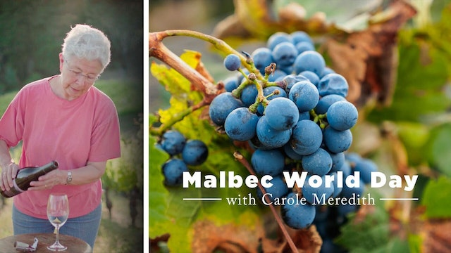 Celebrating Malbec Day with Carole Meredith