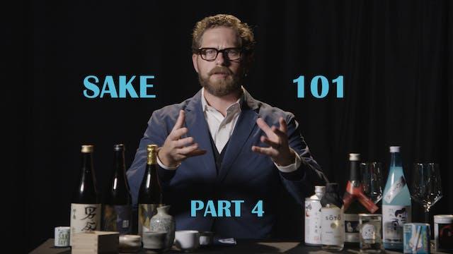 Sake 101 Part 4