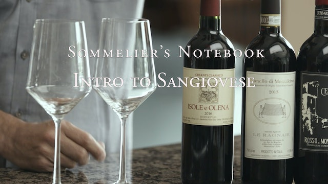 An Intro to Sangiovese