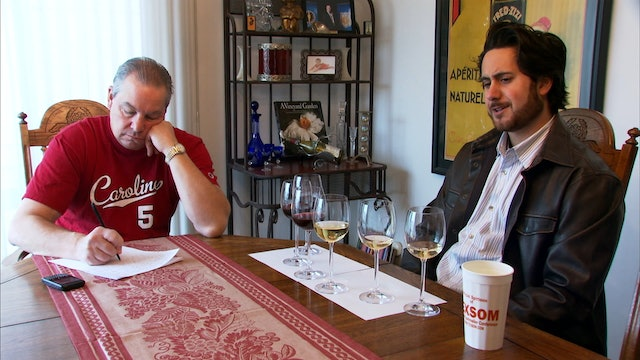 Brian McClintic and Fred Dame Blind Tasting