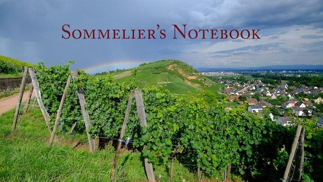Sommelier's Notebook