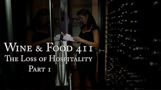 The Loss of Hospitality under Covid-19, part 1