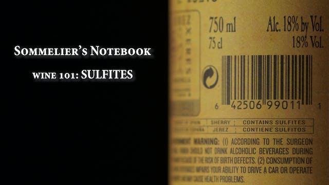 An Intro to Sulfites