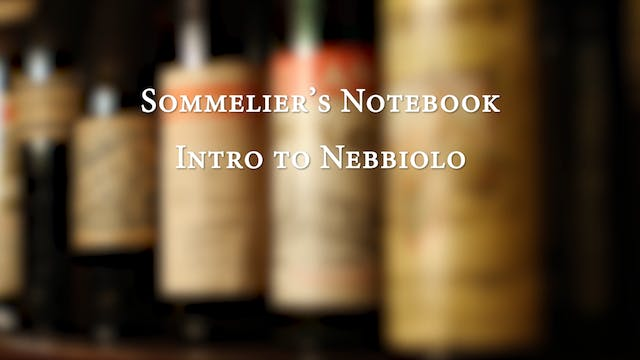 An Intro to Nebbiolo