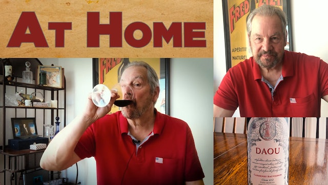 At Home: Episode 3 | Fred Dame shares what he's drinking