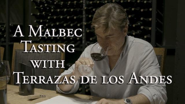 A Malbec Tasting with Terrazas de los Andes