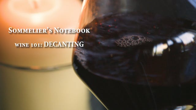 An Intro to Decanting