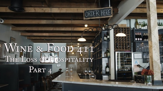 The Loss of Hospitality under Covid-19, part 4