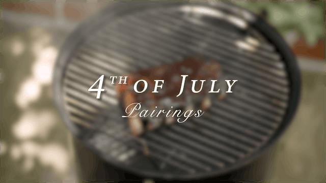 4th of July Pairings 2020