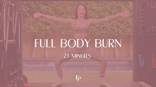 Full Body Burn 3 | 25 Min