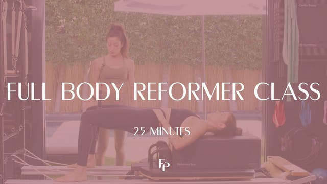 Full Body Reformer Workout | 50 Min