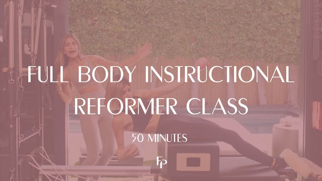 Full Body Instructional Reformer Clas...