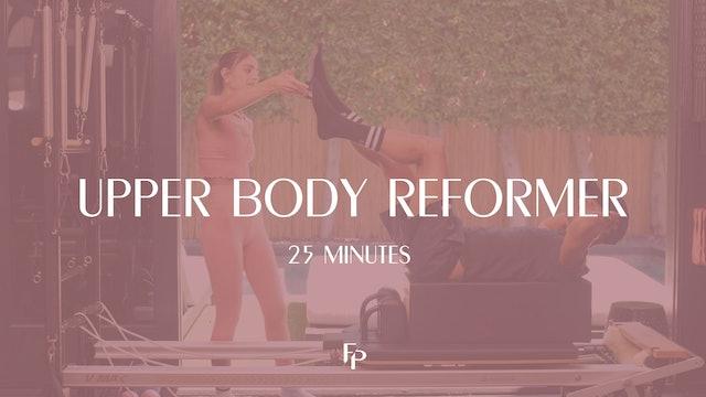 Upper Body Reformer Workout | 25 Min