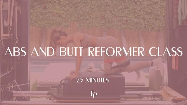 Abs and Butt Reformer Class | 25 Min