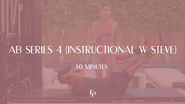 Ab Series 4 (Instructional with Steve) | 10 min