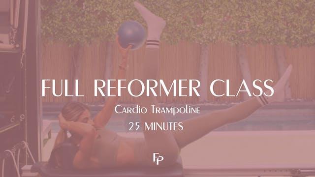 Full Body Reformer Cardio Tramp | 25 ...