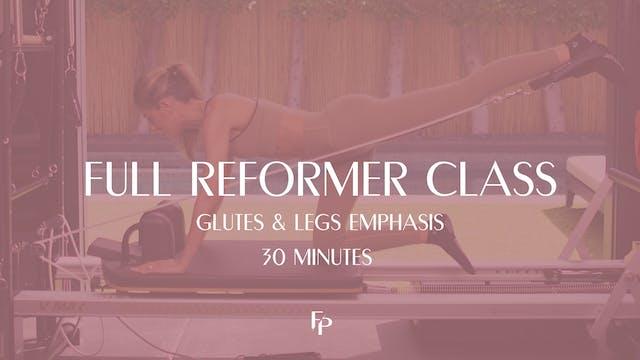 Full Body Reformer Class | Glutes & L...
