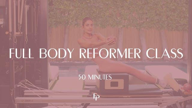 Full Body Reformer | 50 min