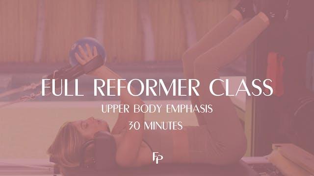 Full Body Reformer Class | Upper Body...