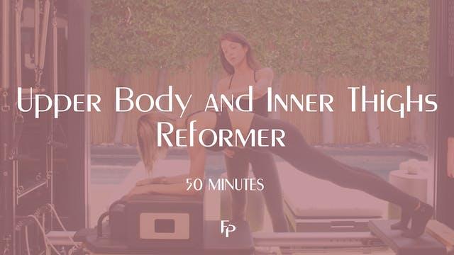 Upper Body and Inner Thighs Reformer ...