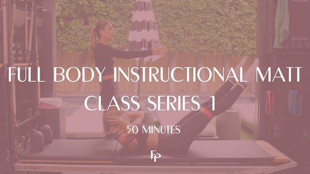 Full Body Instructional Mat Class Ser...