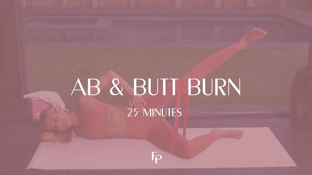Ab & Butt Burn | 25min