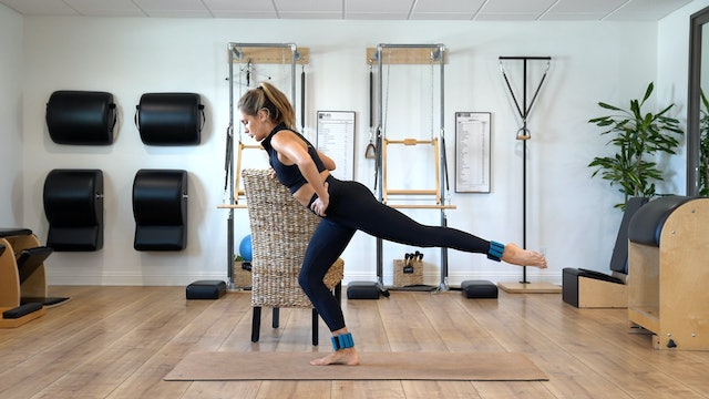 Long Lean Legs (Props: Optional 1-2 lb ankle weights, 20 min)