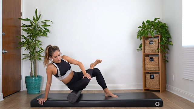 Full Body Introduction to the Foam Roller (Props: Roller, 14 min)