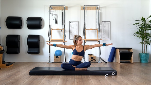 CHOOSE YOU CHALLENGE Upper Body Sequence Week 2, Day 2 (Optional 1-2 lbs, 5 min)