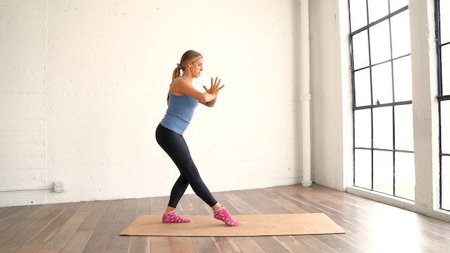 Full Body Resistance (Props: Socks/Towels for feet, 23 Min)