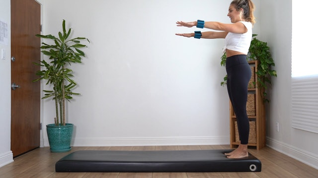 Power Arms (Props: Optional Weights, 12 min)