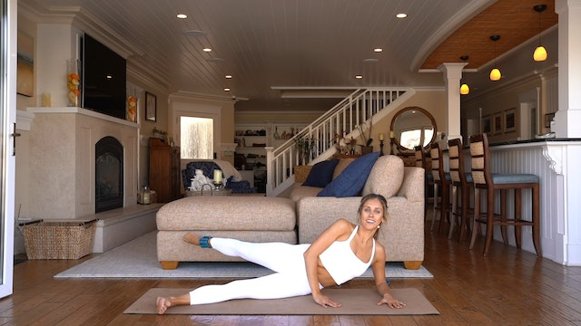 Lower Body Sequence (Props: Optional Weights, 15 min)
